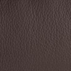 натуральная кожа тёмно - коричневого цвета